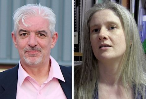 Gerry McGarvey and Robina Barton are seeking the nomination to represent Labour in Shetland at the 2016 Holyrood election.