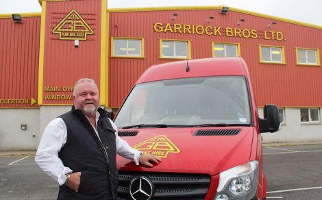 Company founder and majority shareholder George Garriock: 'proud to be a Shetland company making its mark nationally' - Photo: Hans J Marter/ShetNews