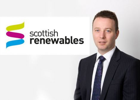 "Scottish Renewables chief executive Niall Stewart: ""Onshore wind farms on Scotland's islands have been pushed back.'"