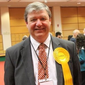 Northern Isles MP Alistair Carmichael following May's election count at Clickimin. Photo: Shetnews