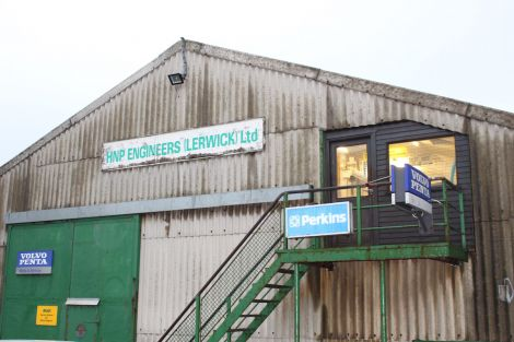 HNP Engineering has occupied the premises at Commercial Road since 1974 - Photo: Chris Cope/ShetNews