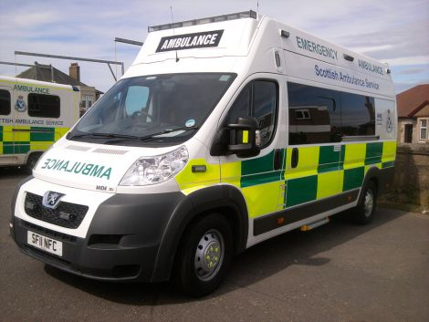 "Following the incident, a Scottish Ambulance Service spokesman said an ongoing review of shift cover was due to conclude in the new year and ""in the meantime additional temporary cover is being brought into the area, as appropriate""."
