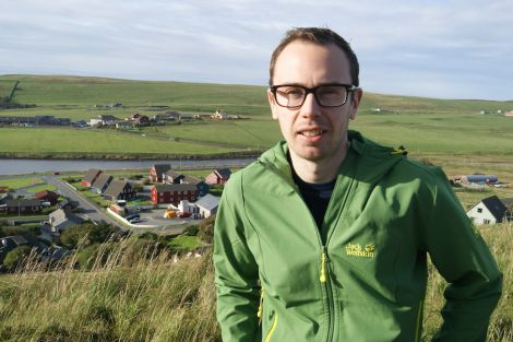 Tory candidate for Shetland Cameron Smith.