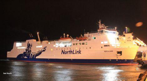The Hjaltland, one of NorthLink's passenger ferries. Photo: Ian Leask