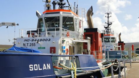 The SIC has made £70,000 on the sale of Solan and Bonxie.