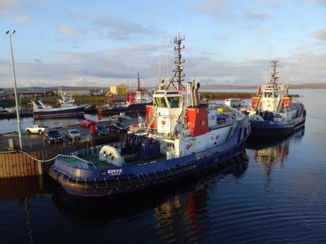 Lessons have been learned from the embarrassing history of Shetland's two new tugs, now sold to the port of Naples.