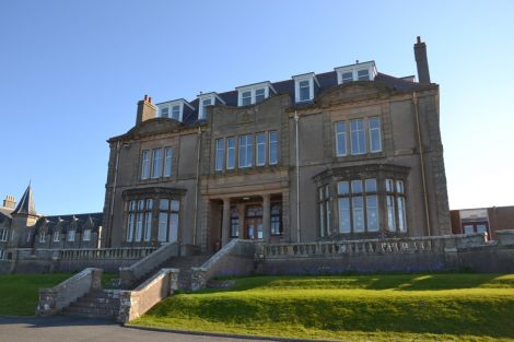 It could cost £1 million to ensure the 150-year-old Bruce Hostel, one of three listed buildings on the site, is externally sound. Photo: Shetnews/Neil Riddell