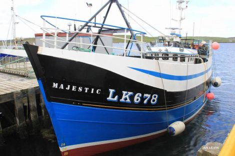 The wooden creel boat Majestic was built in 1977 - Photo: Ian Leask