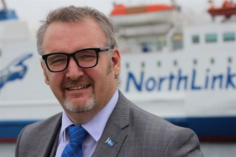 SIC leader Gary Robinson 'ferry fares reduction will be delivered' - Photo: Hans J Marter/ShetNews