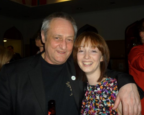 Davie Henderson and his daughter Michelle Moggach.
