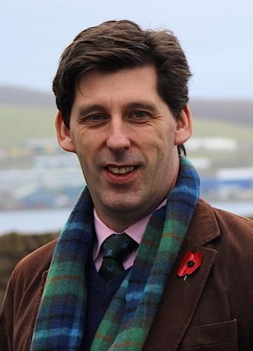 Scottish Conservative MEP Ian Duncan - Photo: Hans J Marter/ShetNews