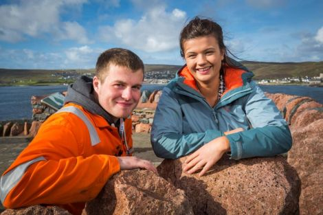 Shortlisted for two apprenticeship awards: Joe Smith and Clare Farmer.