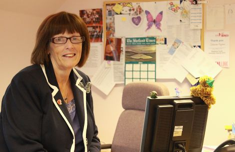 VAS executive director Catherine Hughson: 'we cover everything from cradle to grave' - Photo: Hans J Marter/ShetNews