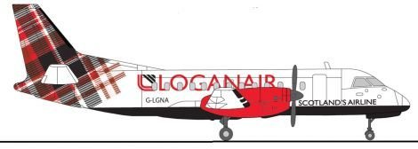 Loganair is to rebrand after ending its franchise arrangement with Flybe.
