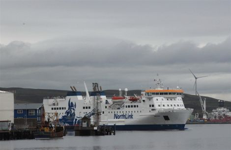 Ferry service disruption is likely between now and Christmas.
