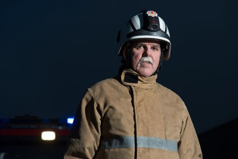 Jim Moar started his career with the fire service back in October 1971 - Photo: Malcolm Younger/Millgaet Media