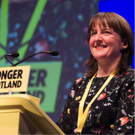 SNP Highlands and Islands list MSP Maree Todd.