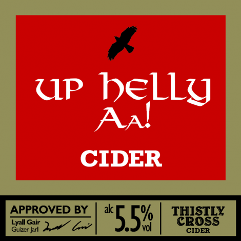The badge for the new Up Helly Aa cider.