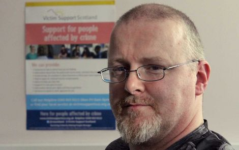 Retired police officer Iain Souter of Victim Support Scotland offers independent and confidential support.