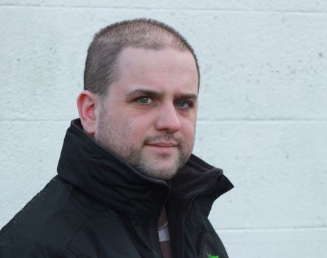 North Isles council candidate Ryan Thomson. Photo: Shetland News/Hans J. Marter