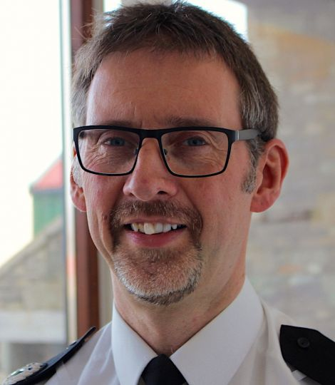 Police Scotland assistant chief constable Andy Cowie was area commander in Shetland between 2003 and 2006 - Photo: Chris Cope/Shetland News