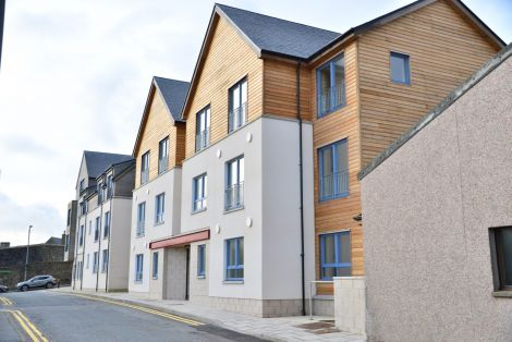 The new Fort Road development is almost ready for social housing tenants to move in.