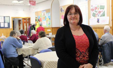 Shetland Royal Voluntary Service manager Mary Gair - Photo: Hans J Marter/Shetland News