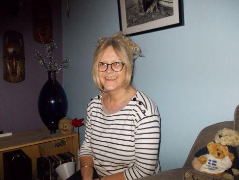 Central ward candidate Julie Buchan.