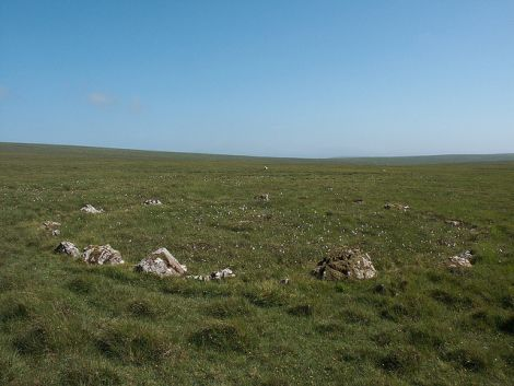 It is hoped the new plans could invigorate Fetlar's tiny island population. Photo of the Haltadans stone circle by Maurice Henderson.