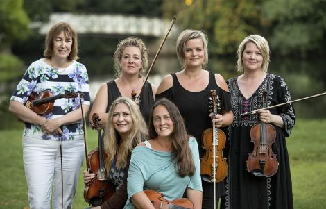 The String Sisters (pictured above) will visit Shetland in June before Fiddle Frenzy gets underway in July.