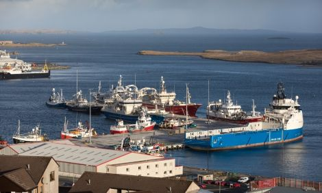Officially being opened on Wednesday, Mairs Quay has already seen some busy times - Photo: John Coutts/Lerwick Port Authority