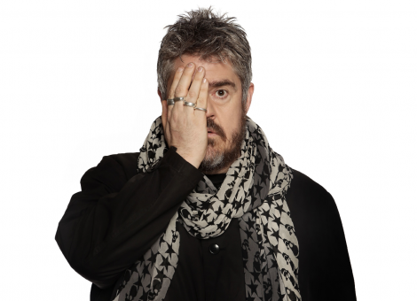 Phill Jupitus will perform at Mareel in Lerwick on 22 July.