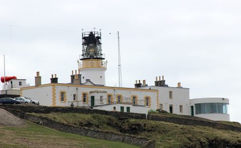 The Sumburgh Head lighthouse and visitor centre, which reopened in 2014 after a £5.4 million refurbishment. Photo: Hans J Marter/Shetland News