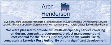 Arch Henderson - Mairs Pier
