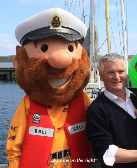 Ian Leask pictured in Lerwick Harbour back in 2013.