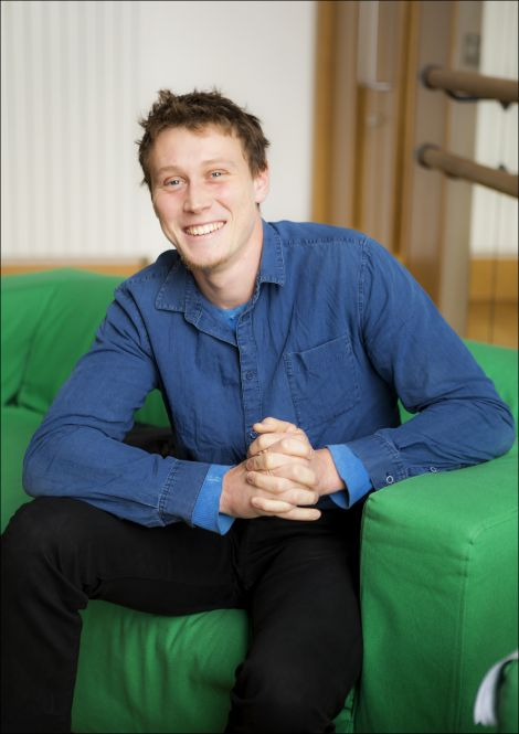 George Mackay's starring role in 2014 film Pride was one of over 80 screenings this year. Photo: Dale Smith.
