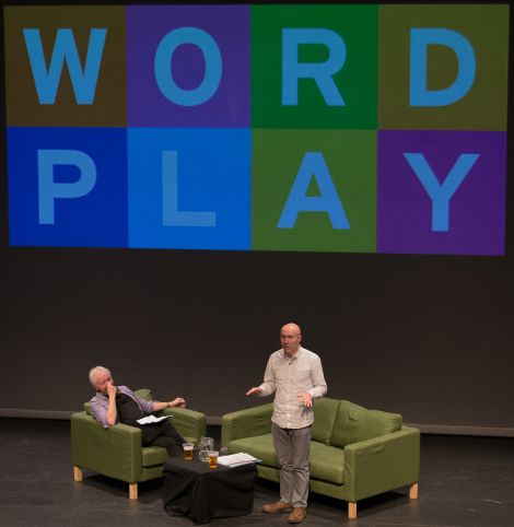 Chris Brookmyre talk: 'A thoroughly engaging, enlightening and entertaining hour'. Photo: Steven Johnson