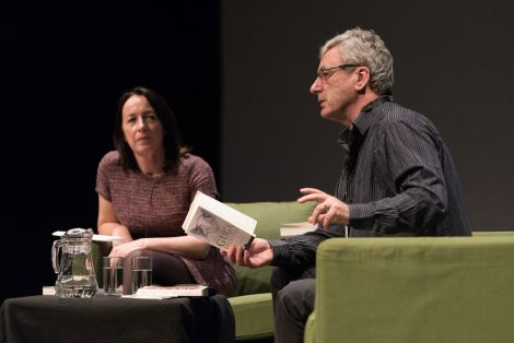 Donald Murray reading from his highly acclaimed book The Guga Hunters. Photo: Steven Johnson