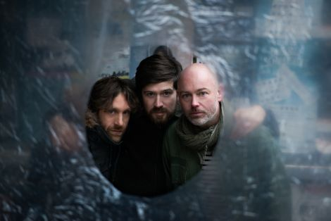 Lau - who feature Shetland resident Kris Drever (middle) - will play at Mareel on Saturday. Photo: Genevieve Stevenson