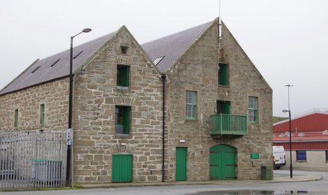 The Shetland Amenity Trust offices in Lerwick.