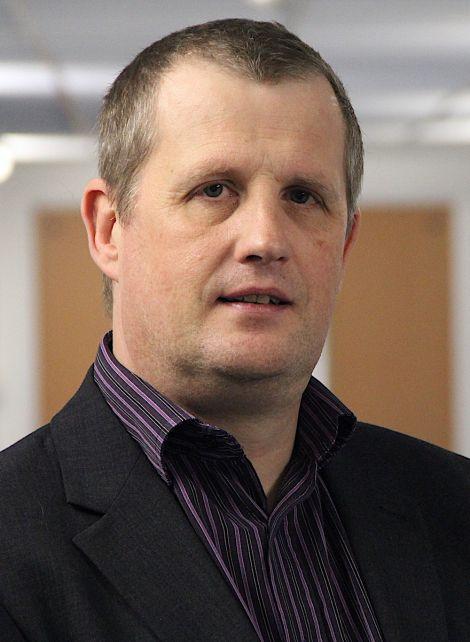 NHS Shetland chief executive Ralph Roberts: 'exploring ideas and imagining what change might look like'. Photo: Shetland News