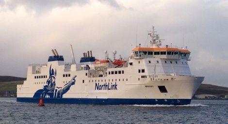 NorthLink passenger ferry MV Hrossey.