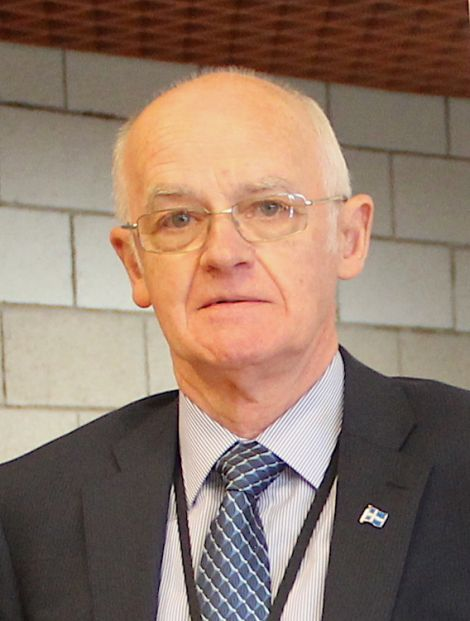 Cecil Smith, who is standing down as SIC leader after around nine months. Photo: Shetland News.
