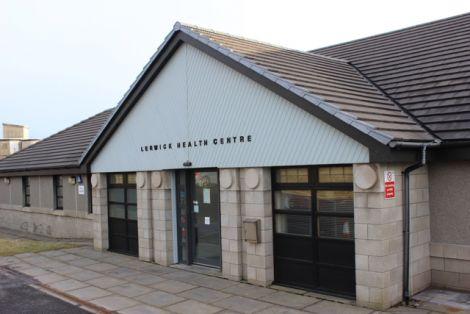 Lerwick Health Centre. Photo: Shetland News