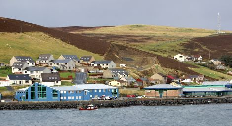 The NAFC Marine Centre in Scalloway, one of the colleges earmarked to merge into one organisation. Photo: Shetland News