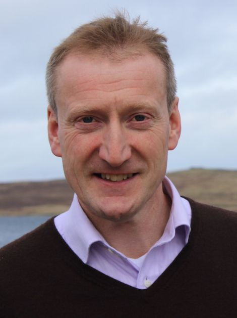 Shetland MSP Tavish Scott.