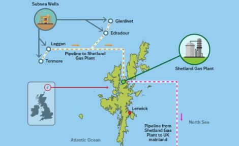 Glendaroch is located close to the Edradour and Glenlivit gas fields.