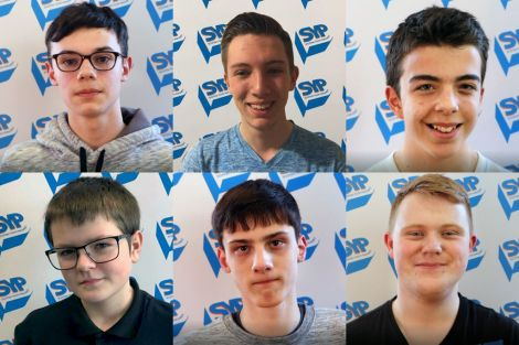 The election candidates, clockwise from top left: Leighton Anderson, Alexander Bendix, Jonathan Dorrat, Dylan Morrish, Shane Painter and Jamie Sutherland. Photo: SIC