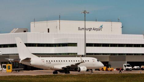 Sumburgh Airport. Photo: HIAL