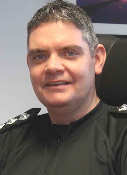 Shetland police chief inspector Lindsay Tulloch.